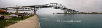 Blue Water Bridge, City of Port Huron, Panorama, CLMD01_222