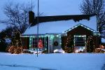 Home, House, Snow, Cold, Warren, night, nighttime, decorated, lights, CLMV01P02_14