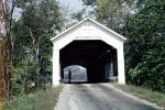 1883, Roseville, Covered Bridge, Parke County, 1963, 1960s