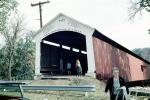 1873, Roseville, Covered Bridge, Parke County, 1966, 1960s