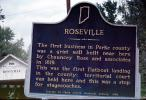 Roseville, Parke County, Covered Bridge