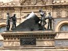 The Mortar Statue, Soldiers and Sailors Monument, memorial, soldiers, statue, downtown Cleveland, CLOD01_175