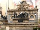 The Mortar Statue, Soldiers and Sailors Monument, memorial, soldiers, statue, downtown Cleveland, CLOD01_176