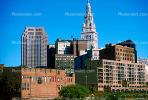 Terminal Tower, Commercial Office building, Cityscape, Skyline, Skyscraper, Downtown, Cleveland, CLOV01P01_17.1728