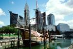 Scioto River, Replica of Christopher Columbus's ship, The Santa Maria, Downtown Riverfront, CLOV01P09_03