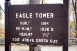 Eagle Tower, lockout , Green Bay Peninsula, Door County, CLWV01P07_05