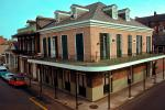 Balcony, Building, French Quarter, CMLV01P02_19