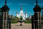 Jackson Square, St. Louis Cathedral, Cathedral-Basilica of Saint Louis King of France, French Quarter