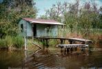 Swamp, Home, Bayou, Dock, Water, Pearl River, wetlands, CMLV01P09_09.1729
