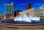 Water Fountain, aquatics, Cityscape, Buildings, Skyscraper, Downtown, Exterior, Outdoors, Outside, CMMV01P10_06.1729