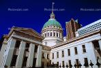 Dome, Saint Louis Historical Old Courthouse, Buildings, Downtown, Exterior, Outdoors, Outside, landmark, CMMV01P10_13.1729