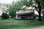 home, house, lawn, tree, summer, summertime, Birthplace, Coalgate 1983, 1980s