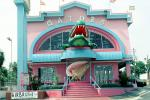 Gators, Alligator Teeth, conch shell, steps, stairs, gift store, building, Gulfport, CMSV01P07_10