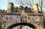 Point Park, entrance, brick, eagle