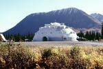 Igloo Hotel, near Denali National Park, dome, building, mountain