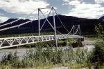 Lower Liard River Bridge, Suspension Bridge, River, Water, Drainage, Alaska Highway