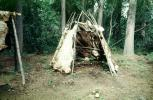 hut, tent, abode, teepee, animal hide