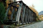 Wooden Trestle Bridge, Chickaloon Railroad, Matanuska-Susitna Borough