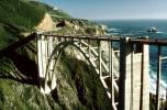 California, Pacific Coast Highway-1, Big Sur, Bixby Bridge, Concrete arch bridge, PCH, CNCV01P05_14