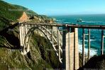 California, Pacific Coast Highway-1, Big Sur, Bixby Bridge, Concrete arch bridge, PCH, CNCV01P05_15.1731