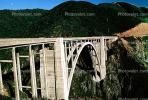 California, Pacific Coast Highway, Big Sur, Bixby Bridge, Concrete arch bridge, PCH