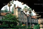 Culinary Institute of America, Greystone Cellers, mansion, landmark, St. Helena, CNCV01P09_10