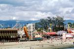 Santa Cruz Beachfront, Pacific Ocean, Amusement Rides, Waterfront