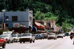 buildings, cars, shops, stores, downtown Calistoga, Napa Valley, CNCV02P04_06