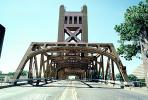 Tower Bridge, vertical lift bridge, Sacramento River, landmark