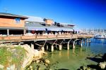 Monterey Pier, buildings, harbor, dock