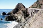 PCH Big Creek Bridge, Big Sur, Pacific Coast Highway-1, Central California Coast, PCH, CNCV08P13_09