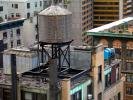 Water Tank, roof, rooftop, chimney, Manhattan, CNYD01_064