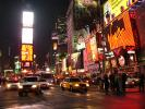 Times Square, Cars, Neon Lights, Billboards, Traffic, CNYD01_147