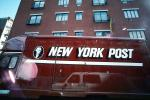 New York Post, Van, buildings, Manhattan, CNYV02P13_11