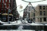 intersection, snowy wet streets, Little Italy, winter, wintertime, CNYV02P15_02