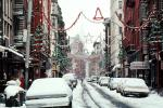 buildings, winter, wintertime, snow, Cars, automobile, vehicles, CNYV02P15_05