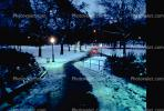 Path, Walkway, Dusk, Central Park, Midtown, Manhattan, winter, wintertime, CNYV02P15_13.1734