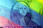 Rainbow Colors, George Washington, Dollar Bill, Money, Manhattan, CNYV03P04_07