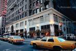 Yellow Cab Taxi, Manhattan, cars, buildings, automobile, vehicles