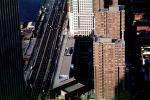 Looking-Down from the World Trade Center, Highrise Buildings in Manhattan, CNYV04P10_04