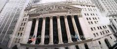 NYSE, New York Stock Exchange, Panorama, snow, winter, building, landmark, famous, Manhattan, CNYV05P08_05
