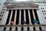 NYSE, New York Stock Exchange, building, landmark, downtown Manhattan, CNYV05P08_10.1735