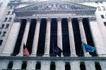 NYSE, New York Stock Exchange, building, landmark, downtown Manhattan, CNYV05P08_12