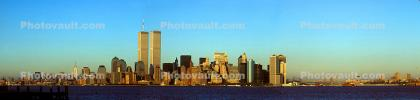 World Trade Center, Manhattan Skyline, Panorama, CNYV06P13_06B