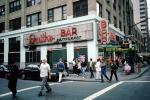 Smith's Bar, crosswalk, Buildings, Cityscape, Manhattan, CNYV06P15_06