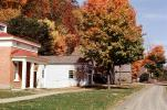 Cooperstown, Dirt Road, Homes, Buildings, unpaved, CNZV01P04_08