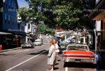 Buick car, automobile, sedan, Main Street, Martha's Vineyard, August 22 1963, 1960s, COEV01P01_11