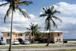 Silver Sands Motel, beach, building, Cars, Automobiles, Vehicle, 1950's