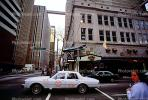 Taxi Cab, car, buildings, downtown, COGV01P02_16