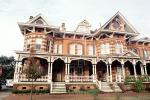 Mansion, Homes, Building, Ornate, Porch, Savannah, opulant, COGV01P10_15